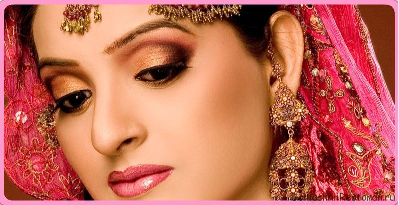 Секреты индийского макияжа