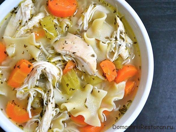 Куриный суп - лапша