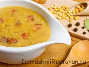 Скандинавский гороховый суп со свининой