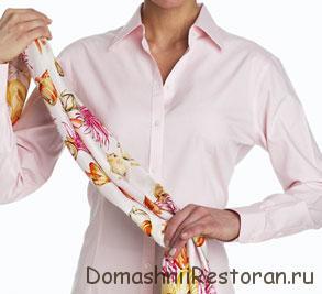 Как красиво повязать шарф