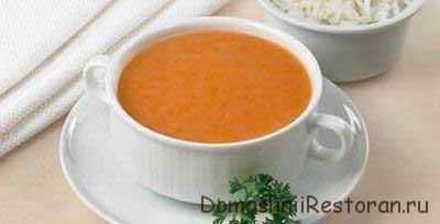 Суп- пюре из помидоров и яблок