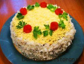 Украшение печёночного торта