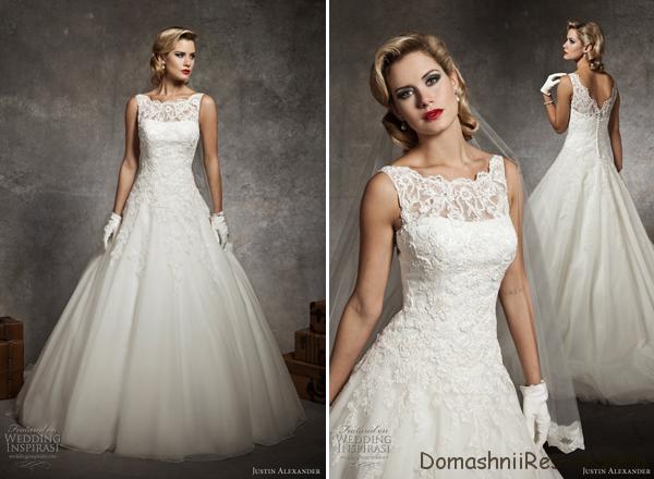 Модели классических свадебных платьев