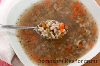 Тосканский суп из смеси бобовых
