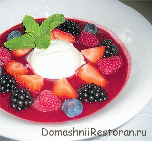 Суп фруктовый