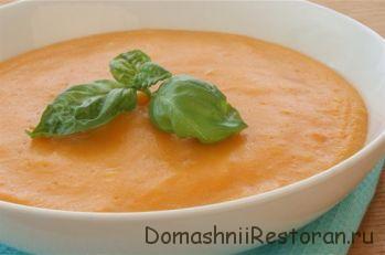 Суп-пюре из свежих фруктов