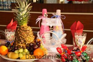 Декорируем свадьбу фруктами