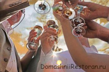 Варианты коротких тостов на свадьбу