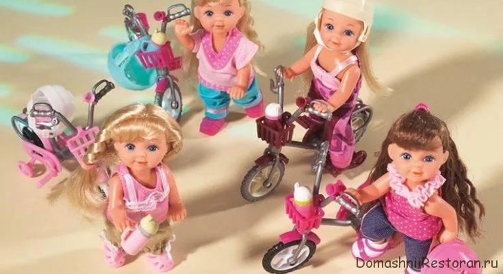 игрушки куколки