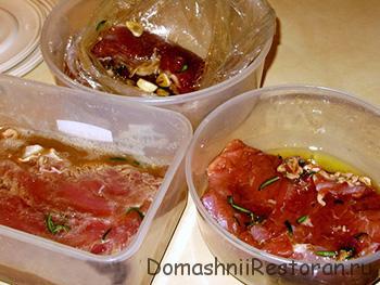 ингредиенты для мясное ассорти рог изобилия
