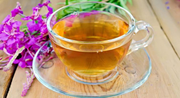 иван чай в чашке