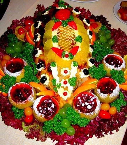 красивый сладкий салат