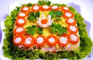 салат желейный