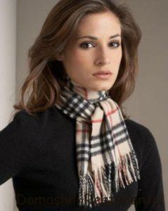 Как завязать теплый шарф