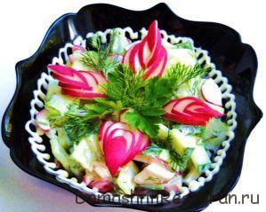 ukrashenie-salata-iz-redisa