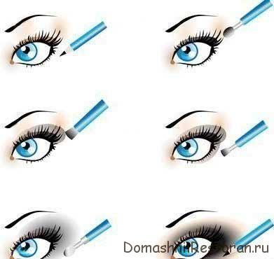 Учимся делать макияж Smoky Eyes