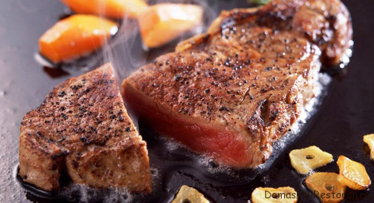 жарка мяса