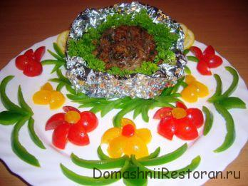 Клефтико (Греческое фламбированное мясное блюдо)