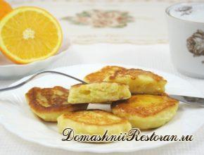 Апельсиновые сырники