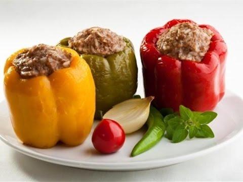 Фаршированный болгарский сладкий перец