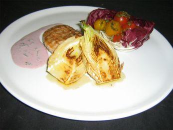 Фенхель, запеченный к мясу