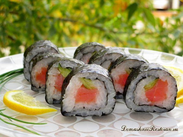 Готовим суши и роллы дома