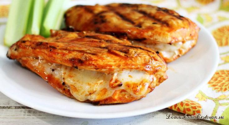 Куриные грудки с сыром