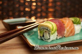Наиболее полезные для организма суши