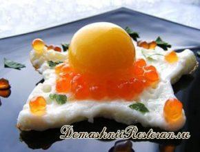 Необычная яичница из замороженных яиц