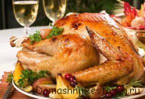 Рецепты нескольких блюд из мяса птицы