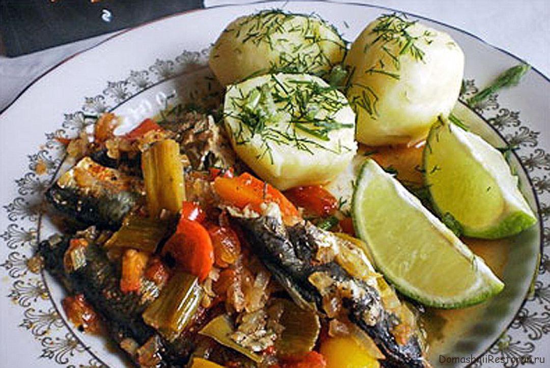 Рыба по-креольски