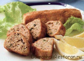 Рыбные колбаски
