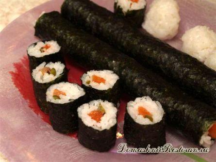 Суши покушай