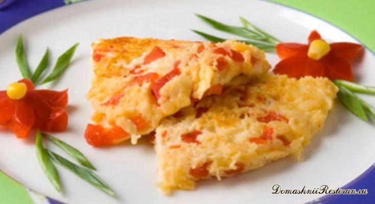 Завтрак по-болгарски: яичница миш-маш