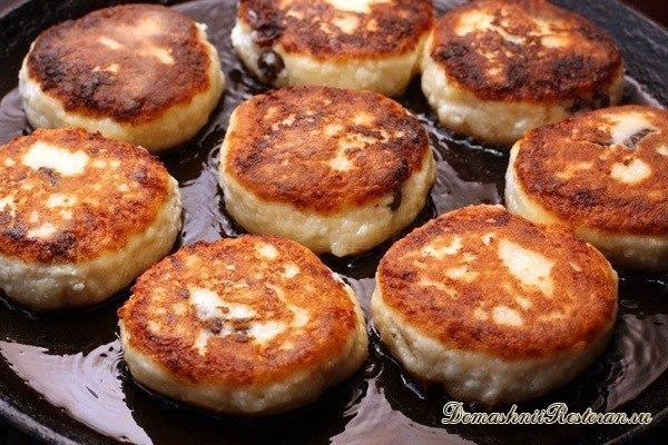 Ванильные сырники - пошаговый рецепт