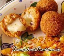 «Рисовые шарики» с сыром