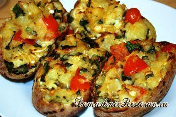 Быстрый ужин - горячие картофельные бутерброды