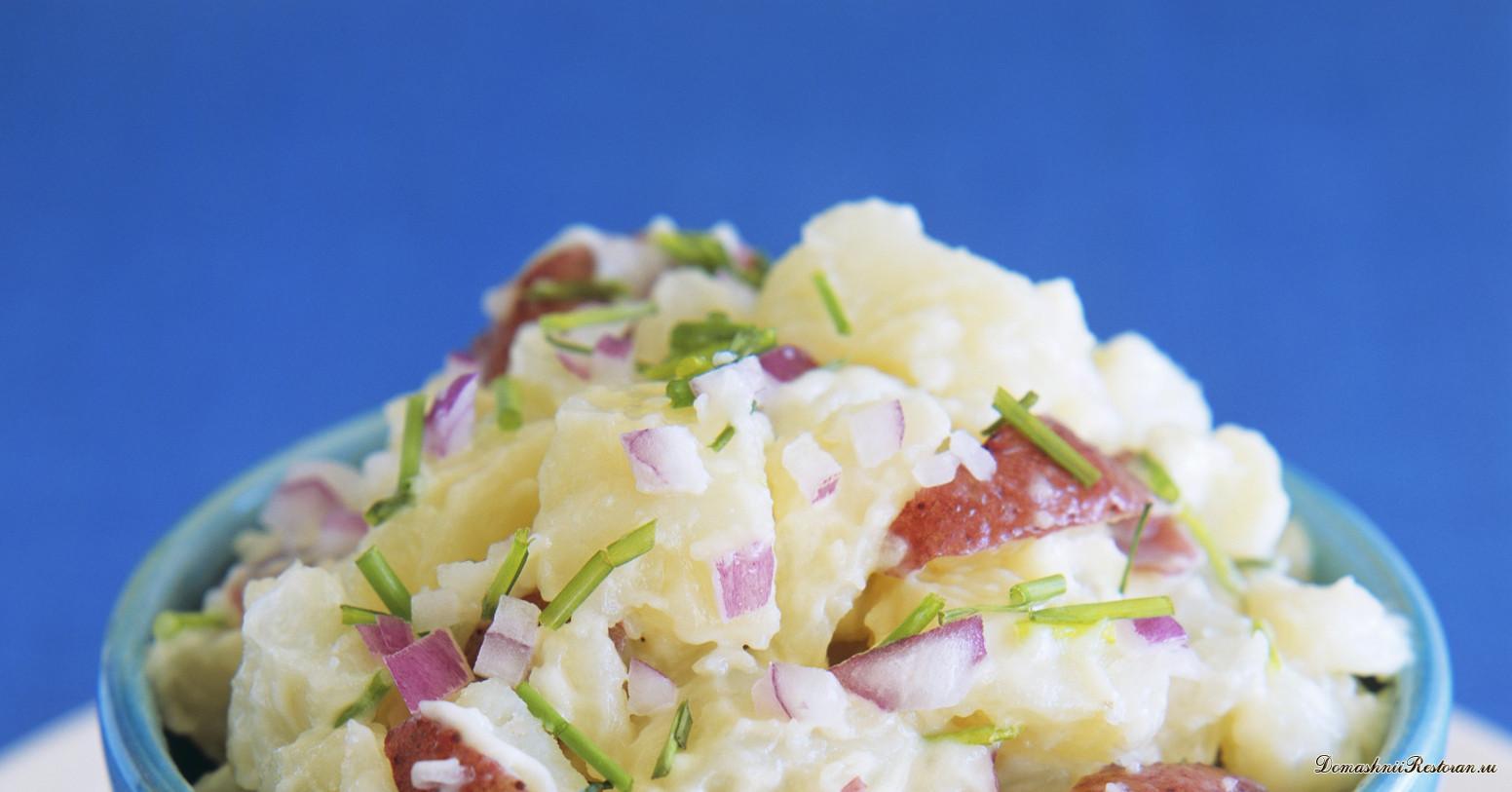Картофельный салат по-берлински