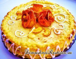Картофельный закусочный торт