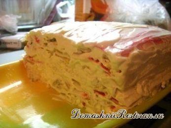 Крабовый тортик