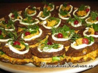 Печеночные пирожные