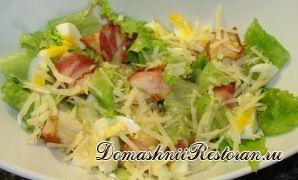 Простые салаты из яиц