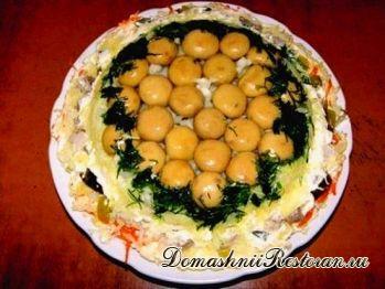 Салат «Грибное лукошко»