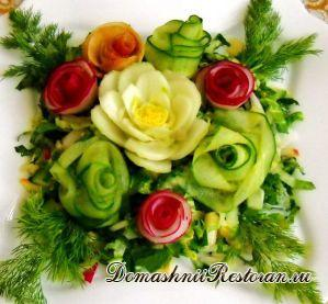 Салат «Краски весны»