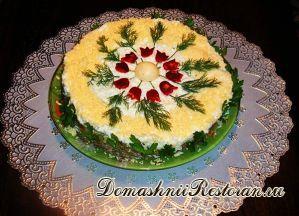 Салат «Печень под шубой»