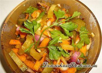 Салат из тыквы и яиц