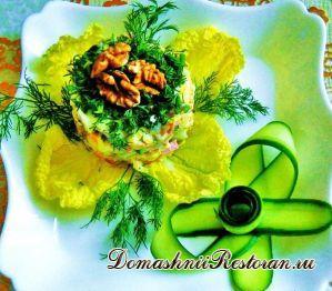 Салат с пикантным вкусом