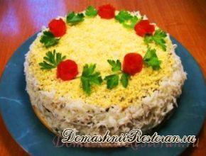 Варианты приготовления основы печеночного, мясного или рыбного закусочного тортика
