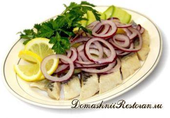 Закуска из рыбы