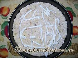 Салат «Куриный торт»